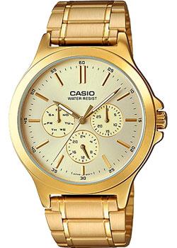 Casio Часы Casio MTP-V300G-9A. Коллекция Analog часы наручные casio часы baby g ba 120tr 7b
