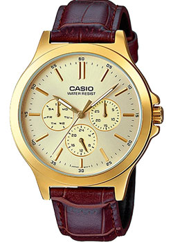 Casio Часы Casio MTP-V300GL-9A. Коллекция Analog casio mtp 1247d 9a