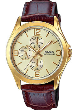 Casio Часы Casio MTP-V301GL-9A. Коллекция Analog casio mtp 1247d 9a