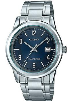 Casio Часы Casio MTP-VS01D-2B. Коллекция Analog часы casio mtp 1374d 5a