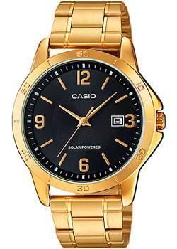 купить Casio Часы Casio MTP-VS02G-1A. Коллекция Analog по цене 3360 рублей