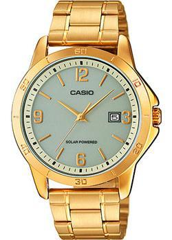 Casio Часы Casio MTP-VS02G-9A. Коллекция Analog футболка wearcraft premium slim fit printio фк носта новотроицк