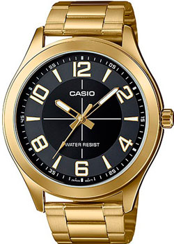 Casio Часы Casio MTP-VX01G-1B. Коллекция Analog часы наручные casio часы baby g ba 120tr 7b