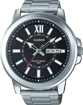 Casio Часы Casio MTP-X100D-1A. Коллекция Analog casio mtp tw101l 1a
