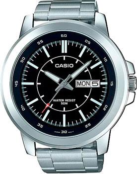 Casio Часы Casio MTP-X100D-1E. Коллекция Analog casio часы casio mtp x100d 2e коллекция analog