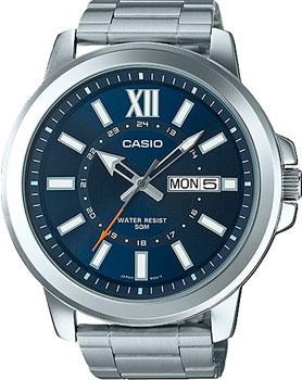 Casio Часы Casio MTP-X100D-2A. Коллекция Analog цены онлайн