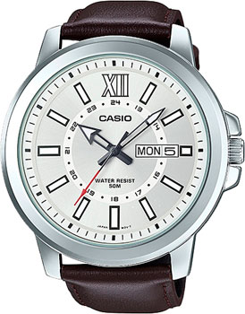 Casio Часы Casio MTP-X100L-7A. Коллекция Analog часы casio mtp 1377l 5a