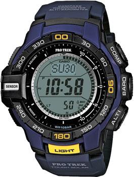 Casio Часы Casio PRG-270-2E. Коллекция Pro-Trek casio prg 270 2e