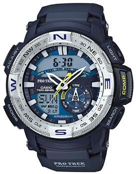 Casio Часы Casio PRG-280-2E. Коллекция Pro-Trek casio prg 300cm 4e
