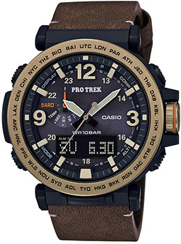 Casio Часы Casio PRG-600YL-5E. Коллекция Pro-Trek цена и фото