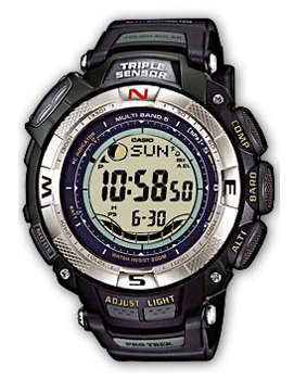 Casio Часы Casio PRW-1500-1V. Коллекция Pro-Trek