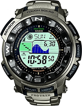 Casio Часы Casio PRW-2500T-7E. Коллекция Pro-Trek электронные часы casio sport prw 2500 1e black