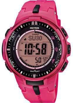 Casio Часы Casio PRW-3000-4B. Коллекция Pro-Trek casio prw 3000 2b casio
