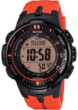 Casio Часы Casio PRW-3000-4E. Коллекция Pro-Trek