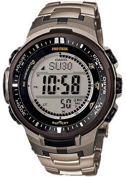 Casio Часы Casio PRW-3000T-7E. Коллекция Pro-Trek