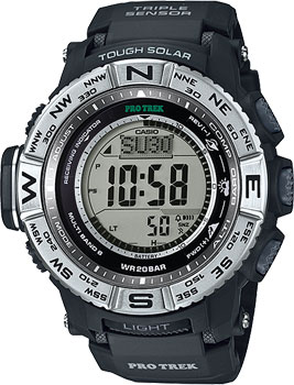 Casio Часы Casio PRW-3500-1E. Коллекция Pro-Trek casio watches solar outdoor climbing table prw 6100fc 1p prw 6100y 1a prw 6100y 1b prw 6100yt 1b prw 6100y 1p men s watches