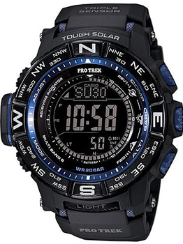 Casio Часы Casio PRW-3500Y-1E. Коллекция Pro-Trek casio watches solar outdoor climbing table prw 6100fc 1p prw 6100y 1a prw 6100y 1b prw 6100yt 1b prw 6100y 1p men s watches