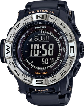 Casio Часы Casio PRW-3510-1E. Коллекция Pro-Trek электронные часы casio sport prw 2500 1e black