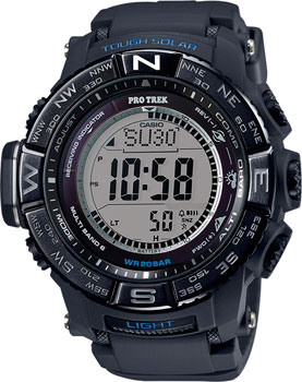 Casio Часы Casio PRW-3510Y-1E. Коллекция Pro-Trek электронные часы casio sport prw 2500 1e black