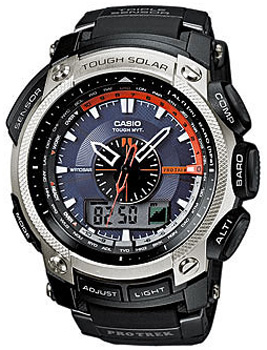 Casio Часы Casio PRW-5000-1E. Коллекция Pro-Trek электронные часы casio sport prw 2500 1e black