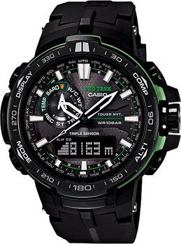 Casio Часы Casio PRW-6000Y-1A. Коллекция Pro-Trek часы наручные casio часы pro trek prw 3510 1e