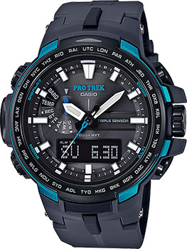 Casio Часы Casio PRW-6100Y-1A. Коллекция Pro-Trek casio watches solar outdoor climbing table prw 6100fc 1p prw 6100y 1a prw 6100y 1b prw 6100yt 1b prw 6100y 1p men s watches