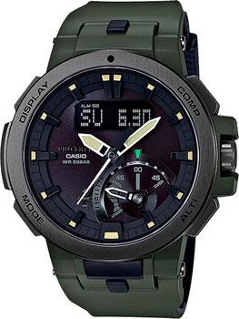 Casio Часы Casio PRW-7000-3E. Коллекция Pro-Trek casio pro trek prw 6100y 1a
