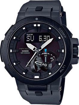 Casio Часы Casio PRW-7000-8E. Коллекция Pro-Trek casio pro trek prw 6100y 1a