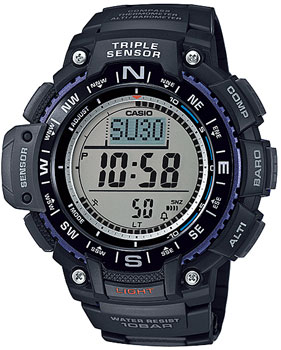 Casio Часы Casio SGW-1000-1A. Коллекция Pro-Trek часы casio collection sgw 300h 1a black