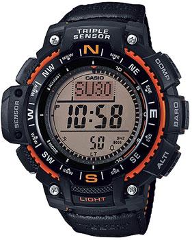 Casio Часы Casio SGW-1000B-4A. Коллекция Pro-Trek casio sgw 1000 1a