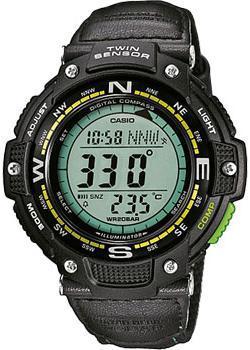Casio Часы Casio SGW-100B-3A2. Коллекция Pro-Trek casio часы casio sgw 600h 1b коллекция digital