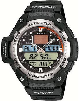 Casio Часы Casio SGW-400H-1B. Коллекция Pro-Trek casio часы casio sgw 600h 1b коллекция digital