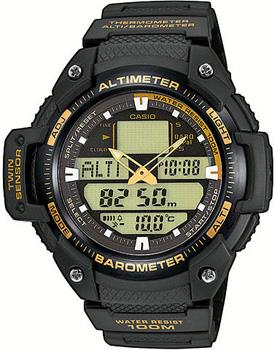 Casio Часы Casio SGW-400H-1B2. Коллекция Pro-Trek casio часы casio sgw 600h 1b коллекция digital