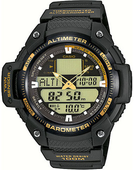 Casio Часы Casio SGW-400H-1B2. Коллекция Pro-Trek все цены