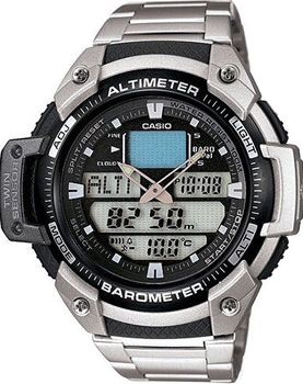 Casio Часы Casio SGW-400HD-1B. Коллекция Pro-Trek