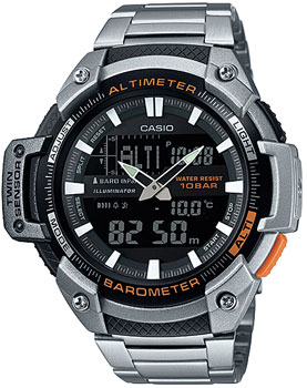 Casio Часы Casio SGW-450HD-1B. Коллекция Pro-Trek