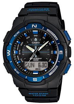 купить Casio Часы Casio SGW-500H-2B. Коллекция Pro-Trek по цене 8190 рублей