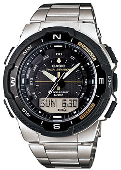 цена на Casio Часы Casio SGW-500HD-1B. Коллекция Pro-Trek