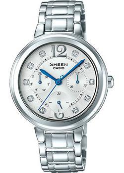 Casio Часы Casio SHE-3048D-7A. Коллекция Sheen casio sheen she 3050sg 7a