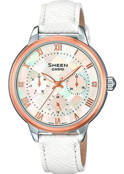 Casio Часы Casio SHE-3057PGL-7A. Коллекция Sheen casio sheen she 3511l 7a