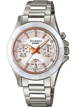 Casio Часы Casio SHE-3503SG-7A. Коллекция Sheen casio sheen she 4800d 7a