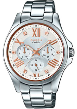 Casio Часы Casio SHE-3806D-7B. Коллекция Sheen casio sheen she 3806d 7a