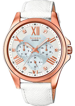 Casio Часы Casio SHE-3806GL-7A. Коллекция Sheen casio часы casio she 3049pgl 7a коллекция sheen