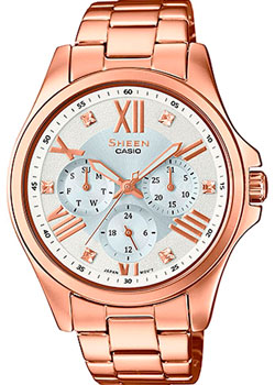 Casio Часы Casio SHE-3806PG-7A. Коллекция Sheen casio sheen she 3511l 7a