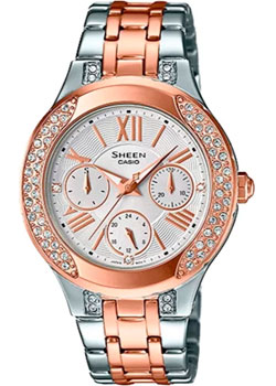 Casio Часы Casio SHE-3809SG-7A. Коллекция Sheen casio часы casio she 3049pgl 7a коллекция sheen