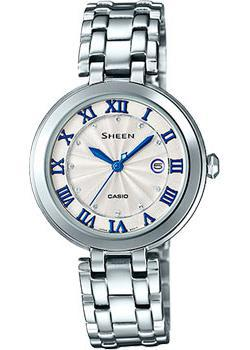 Casio Часы Casio SHE-4033D-7A. Коллекция Sheen casio sheen she 3511l 7a