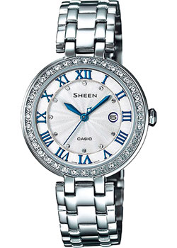 Casio Часы Casio SHE-4034D-7A. Коллекция Sheen casio sheen she 3511l 7a