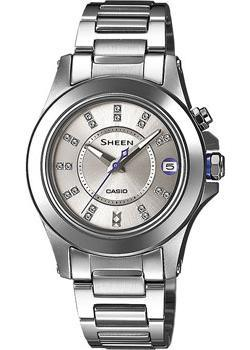 Casio Часы Casio SHE-4509D-7A. Коллекция Sheen casio часы casio she 3049pgl 7a коллекция sheen