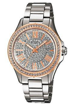 Casio Часы Casio SHE-4510SG-7A. Коллекция Sheen casio sheen she 3511l 7a