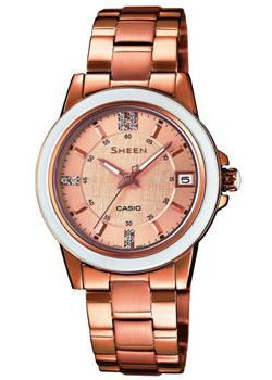 Casio Часы Casio SHE-4512PG-9A. Коллекция Sheen часы casio she 4512pg 9a